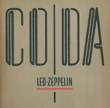 Led Zeppelin - Coda JAPAN LP with INSERTS