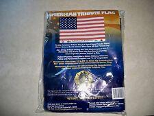 AMERICAN 9/11 TRIBUTE FLAG 3' X 5' . NEW