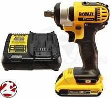 "NEW DeWALT DCF880 20V 20 Volt MAX DCB203 Battery Cordless 1/2"" Impact Wrench Kit"