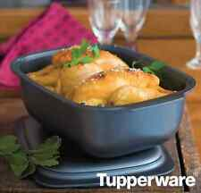 Tupperware Ultra Pro Roasting Pan & Cover Freezer & Oven Safe 3.7L Ovenworks New