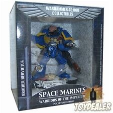 BROTHER HERVICTUS OF THE ULTRAMARINES WARHAMMER 40000 STATUE FIGUR 40K SIDESHOW