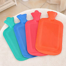 THICK Rubber HOT WATER BOTTLE Bag WARM Relaxing Heat Cold Therapy