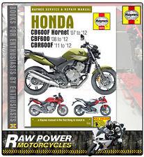 Honda CBF600 SA 599cc 2008 - 2012 Haynes Manual (5572)
