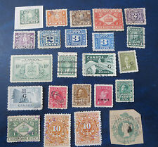 CANADA STAMPS---BACK OF BOOK USED LOT*********