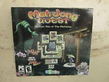 Mah Jong Quest 1 PC Game Windows  Computer puzzle mahjong jewel quest