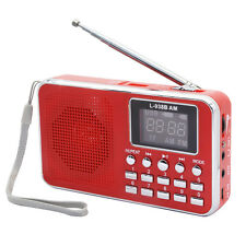 Mini USB Digital AM FM Portable Radio Speaker MP3 Music Player with TF Card Slot