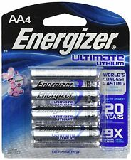 Energizer Batteries Ultimate L91BP-4 Lithium AA Battery - 24 Batteries NOT BULK