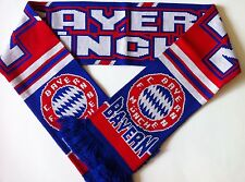 BAYERN MUNICH Football Scarve NEW from Superior Acrylic Yarns