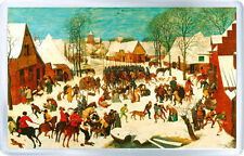 PIETER BRUEGEL THE ELDER - MASSACRE OF THE INNOCENTS 1565-1567 MAGNET IMAN