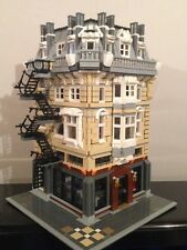 Custom Lego Modular Building Instructions 004 Apartment&Bar 10243 10185 10182