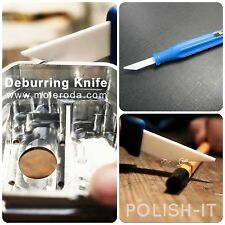 1 OFF SMALL CERAMIC DEBURRING KNIFE FOR REMOVING & SMOOTHING SHARP EDGES, BURRS
