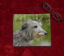 Deerhound Dog Microfibre Glasses Camera Lens Phone Screen Cleaning Cloth