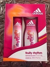 Ladies Adidas Fruity Rhythm Fragrance Gift Set For Women