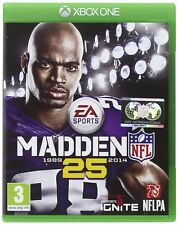 Xbox One Madden NFL 25 American Football Game NEW