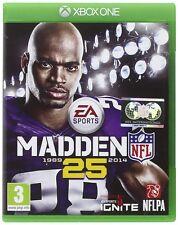 Xbox One Madden NFL 25 American Football Spiel NEUWARE