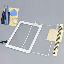 Touch Glass Screen Digitizer w/ Home Button Assembly+Frame For iPad 2 2nd White