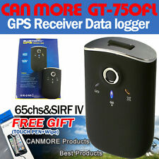 Canmore GT-750FL Bluetooth USB GPS Receiver DATA LOGGER SiRF IV/Mobile/PC/Laptop