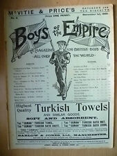 Boys of The Empire: A MAGAZINE FOR BRITISH BOYS, No.6, 1st December, 1900