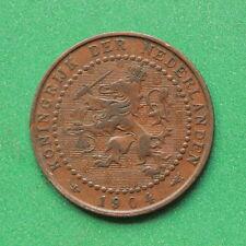 1904-Paesi Bassi - 1 CENT UN CENTESIMO-sno42843