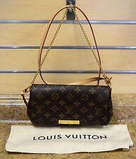 *Louis Vuitton Favorite PM Monogram Canvas Shoulder Bag Purse w/ Dust Bag