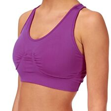 Striders Edge E-padded Sports Bra Hyacinth - Size 12 (Medium) BNWT RRP £39