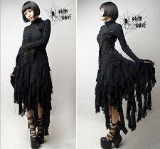 Jupe goth gothique punk lolita fashion asymétrique destroy dentelle Punkrave