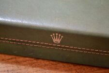 Vintage ROLEX Leather Box for CELLINI Dual Time 50515 50505 Danaos 1970's OEM