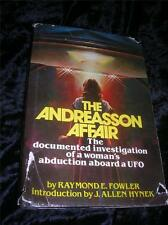 The Andreasson Affair by Raymond E. Fowler (1979 Hardcover) Womans UFO Abduction