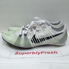 Nike Zoom Victory 2 Track Spikes White/Black-Volt Men 6.5 Womens 8
