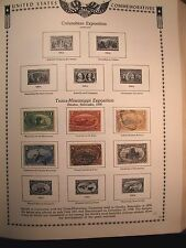 US Stamp Old Album Page  Trans-Mississippi Exposition   1898  C172