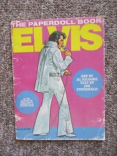 Elvis Presley 1982 Paper Doll Book +1970's Special Canadian TV promo Photo Album