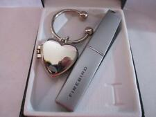 New Colibri Firebird Slim Electro Quatz Lighter & Key Ring Locket Gift Set