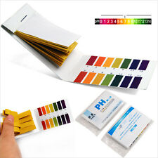 80 pH 1-14 Universal Full Range Litmus Test Paper Strips Tester Indicator Urine