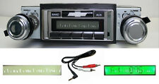 1968 Chevy Chevelle El Camino Radio Free Aux Cable Stereo 230 **