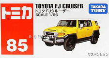Tomy Tomica No.85 Toyota  FJ Cruiser Yellow 1 : 66