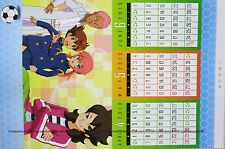 Inazuma Eleven go chrono stone desk top calendar promo anime official