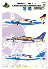 Wingman Models Decals 1/48 DORNIER ALPHA JET A LUFTWAFFE ANNIVERSARY BIRDS