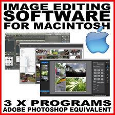 Modifica delle immagini software: Photoshop CS2 Mac equivalente-MacBook Pro iMAC OSX Apple