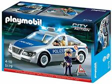Playmobil 5179 Coche Policia con luces Police Car with lights City Action