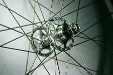 nos star sheriff PISTA TRACK hubs laced to mavic open pro rims