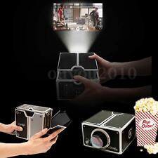 DIY Projecteur Portable Bricolage Carton Cinéma Smartphone Mobile Téléphone MP4