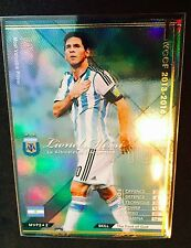 2013-14 Panini WCCF MVP Lionel Messi Argentina Refractor card Scarce