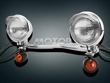 Passing Signals Lights Bar Fit Kawasaki Vulcan VN 88 800 900 1500 1600 1700 2000