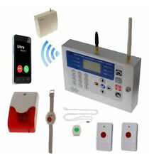 H/D KP 400 metre GSM Wireless Panic Alarm with 4 x Various Panic Buttons