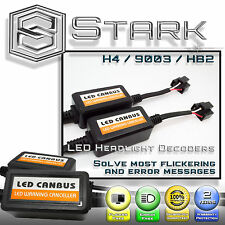 PAIR LED Headlight Canbus Error Free Anti Flickering Resistor Decoder - H4 9003