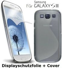 Protective Cover for Samsung Galaxy S3 i9300 Bumper Cover + Screen protector