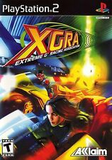 PS2 XGRA: Extreme G Racing Association Video Game DISC ONLY combat multiplayer