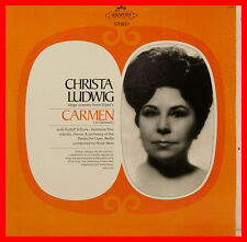 "CHRISTA LUDWIG SINGS SCENES FROM BIZET'S CARMEN SCHOCK HORST STEIN 12"" LP (B785)"