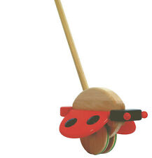 Push Along - Ladybird - Wooden Toys by Bajo