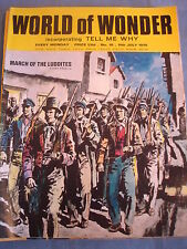 World of Wonder - #16 - 11th July 1970 - March of the Luddites